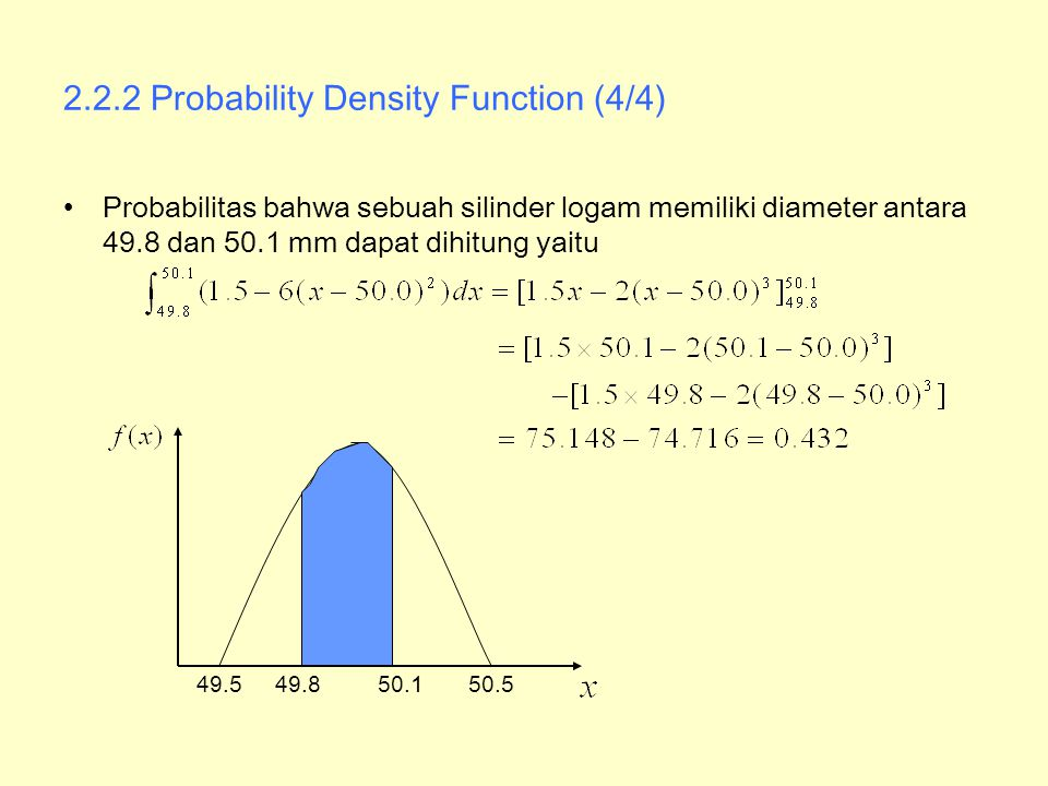 2.2.2 Probability Density Function (4/4)