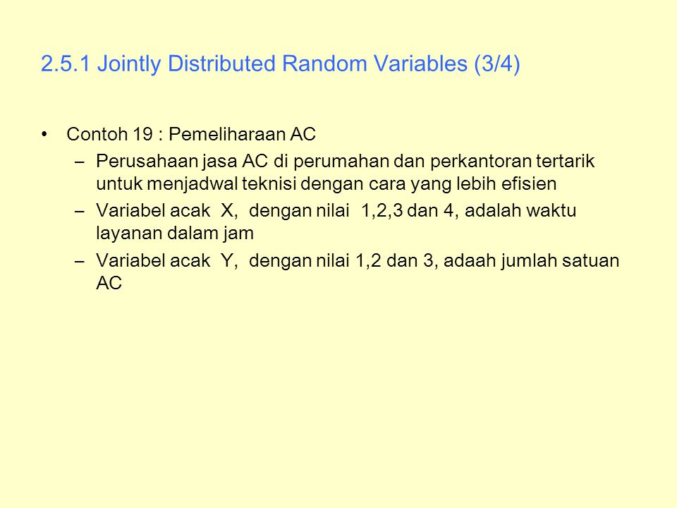 2.5.1 Jointly Distributed Random Variables (3/4)