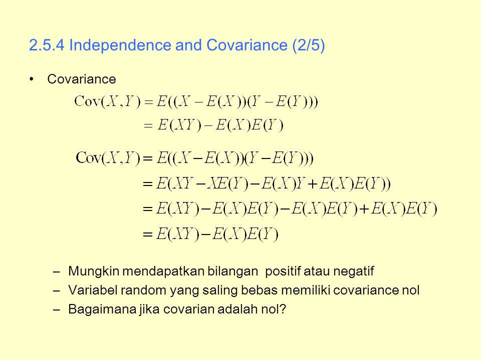 2.5.4 Independence and Covariance (2/5)