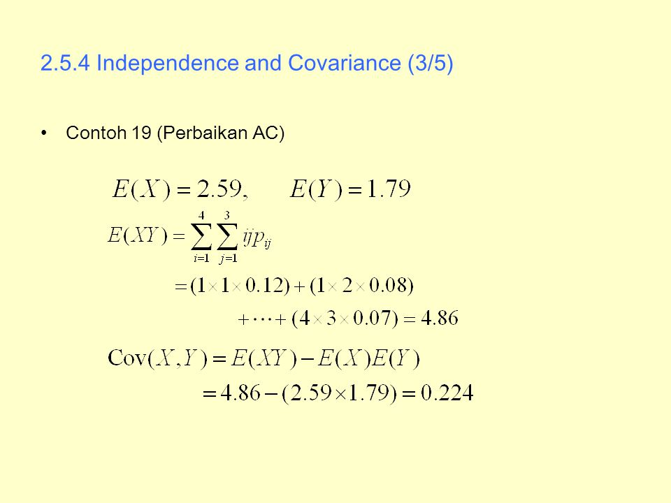 2.5.4 Independence and Covariance (3/5)