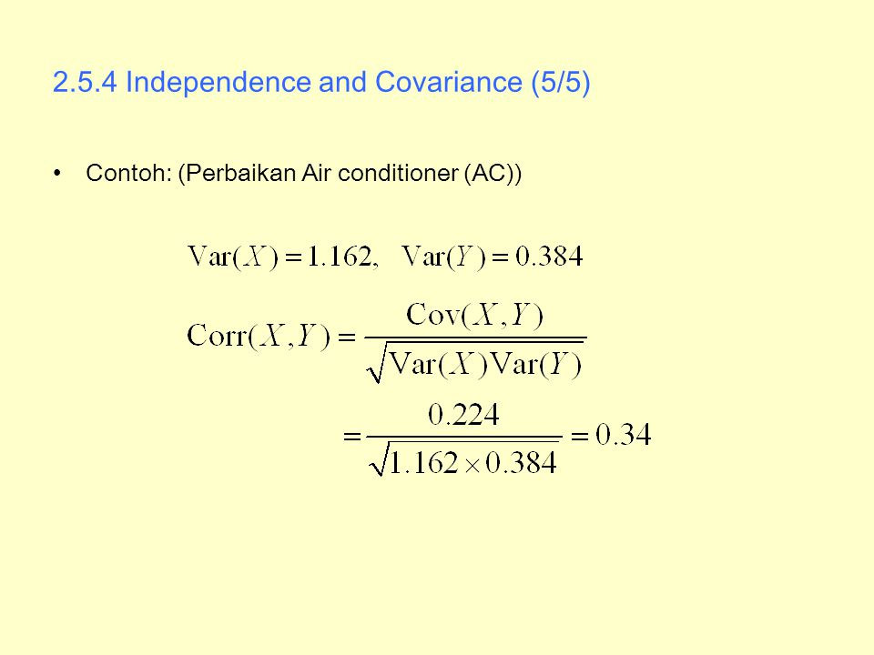 2.5.4 Independence and Covariance (5/5)