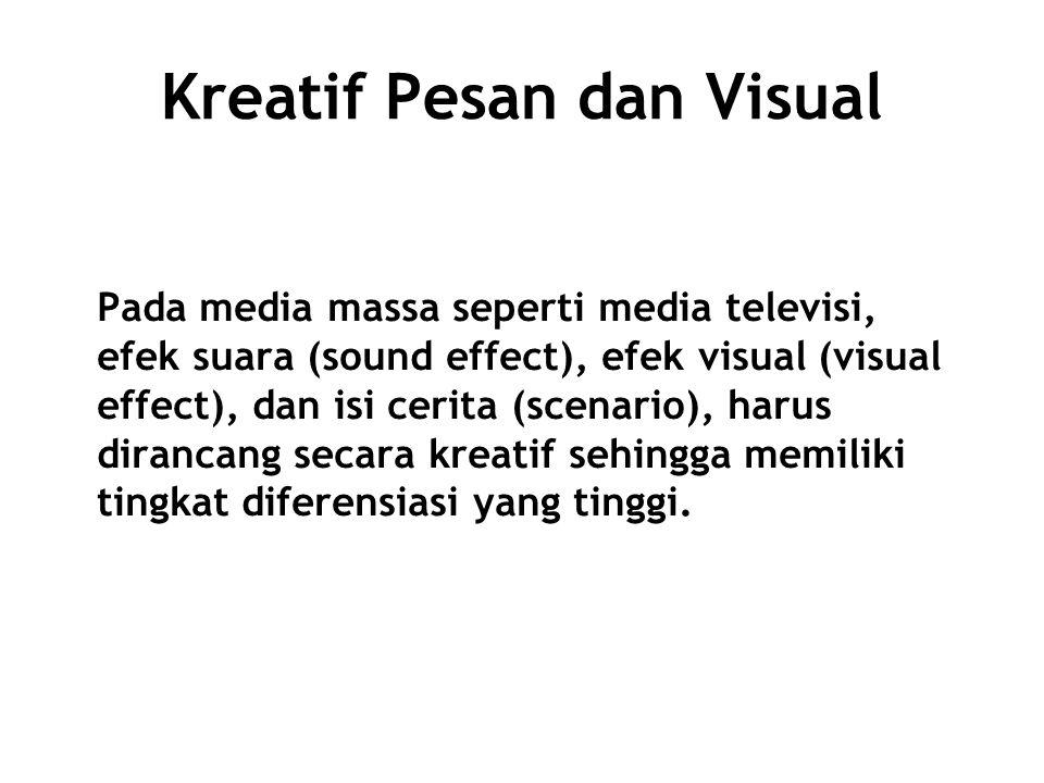 Kreatif Pesan dan Visual