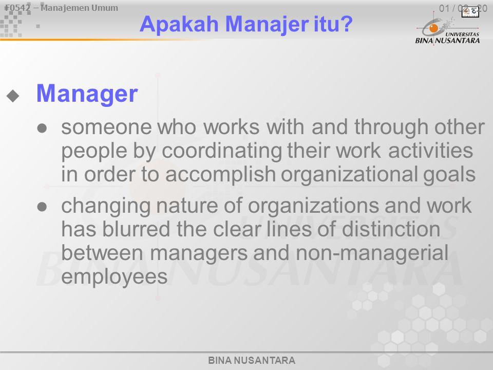 Manager Apakah Manajer itu