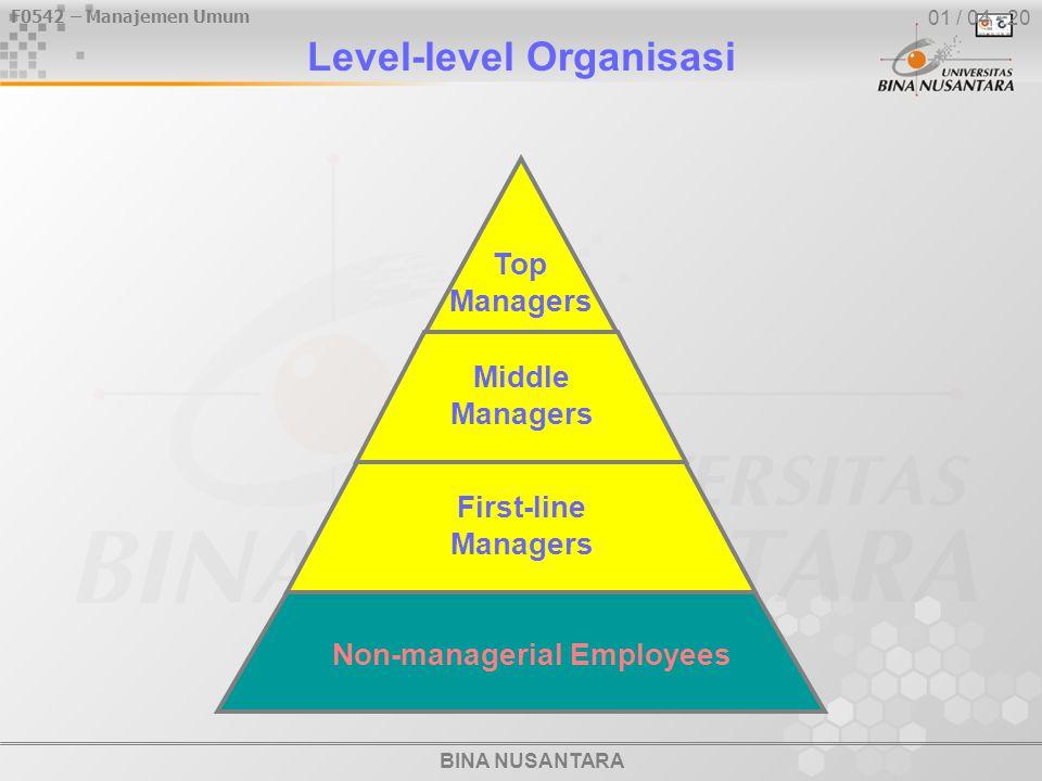 Level-level Organisasi