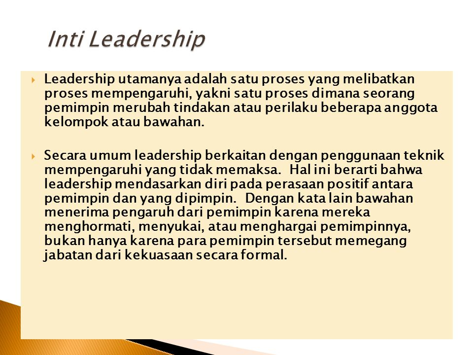 Inti Leadership