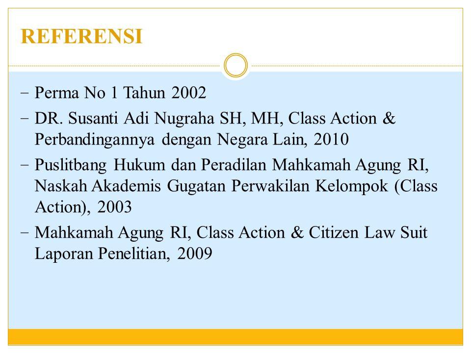 REFERENSI Perma No 1 Tahun 2002