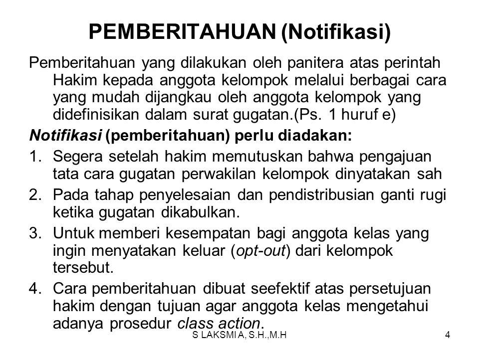 PEMBERITAHUAN (Notifikasi)