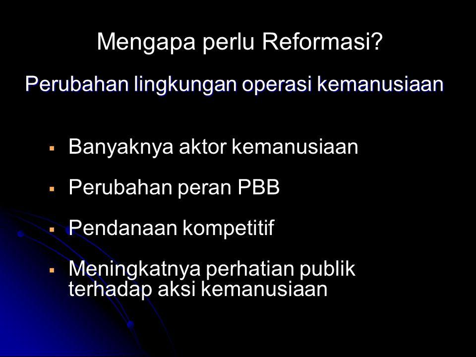 Mengapa perlu Reformasi