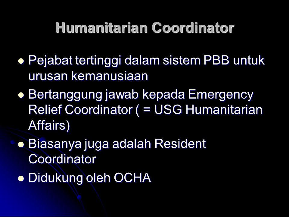 Humanitarian Coordinator