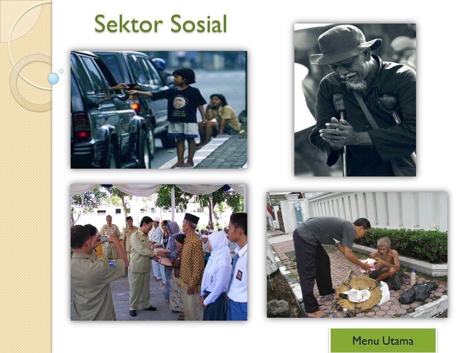 Sektor Sosial Menu Utama