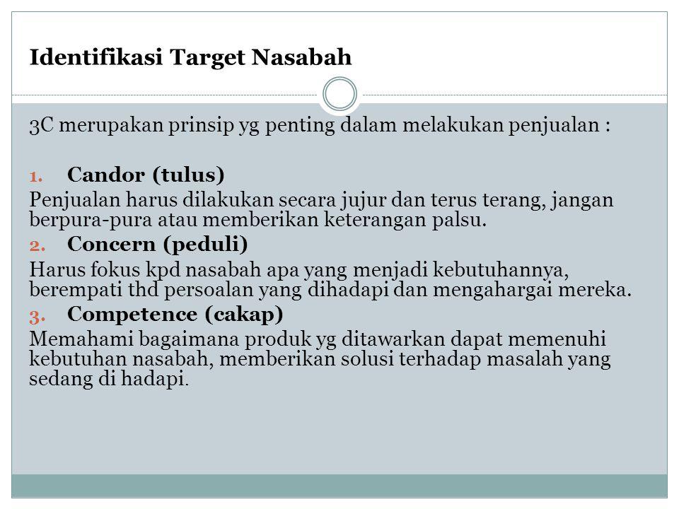 Identifikasi Target Nasabah