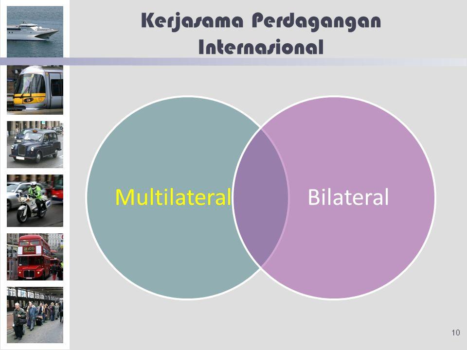 Kerjasama Perdagangan Internasional