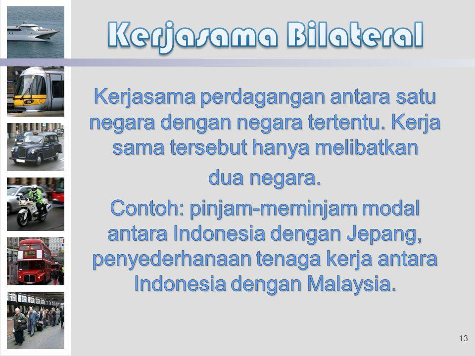 Kerjasama Bilateral