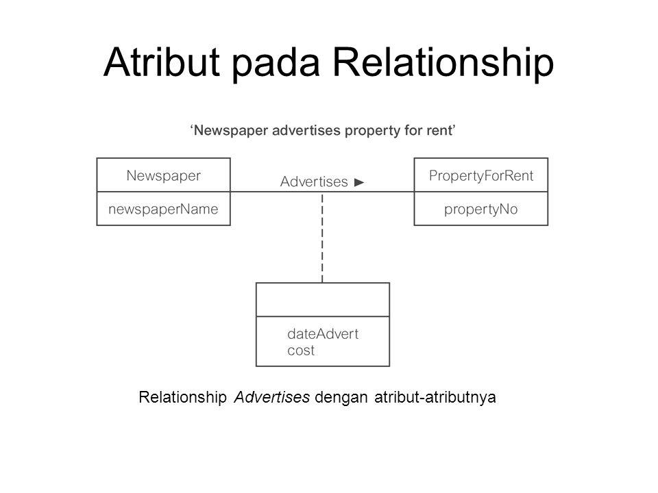Atribut pada Relationship
