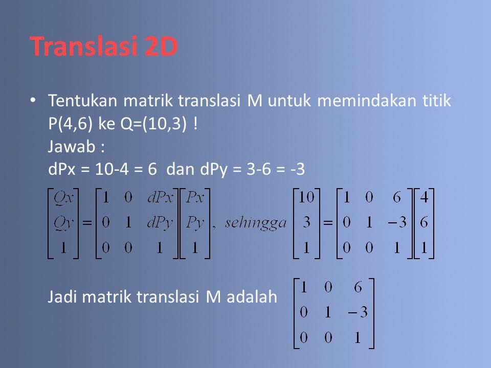 Translasi 2D