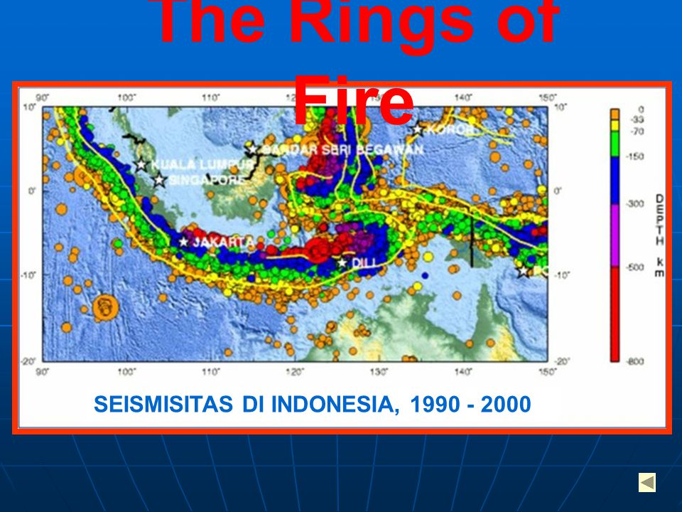 The Rings of Fire SEISMISITAS DI INDONESIA,
