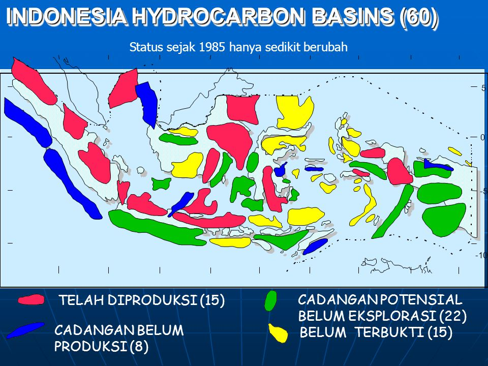 INDONESIA HYDROCARBON BASINS (60)