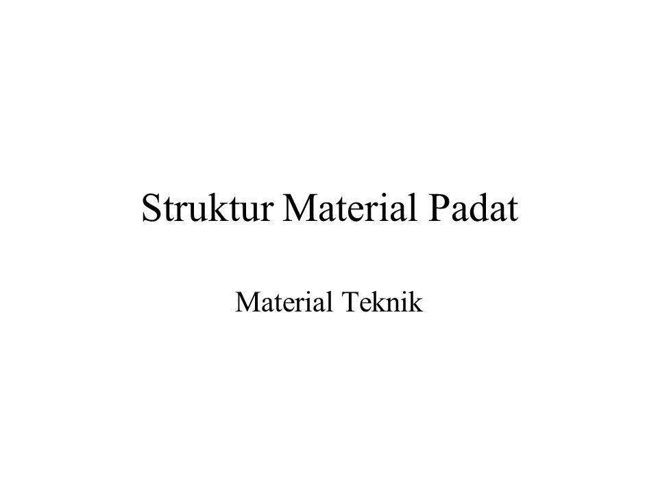 Struktur Material Padat