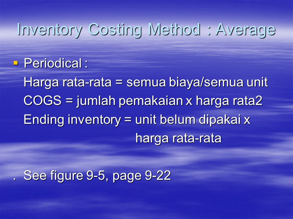 costing method Comparing the two methods w il th diff b twe can reconcile the difference between absorption and variable income as follows: variable costing net operating income.