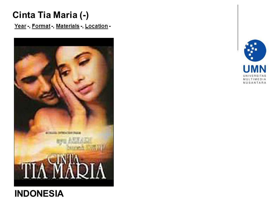 Cinta Tia Maria (-) INDONESIA