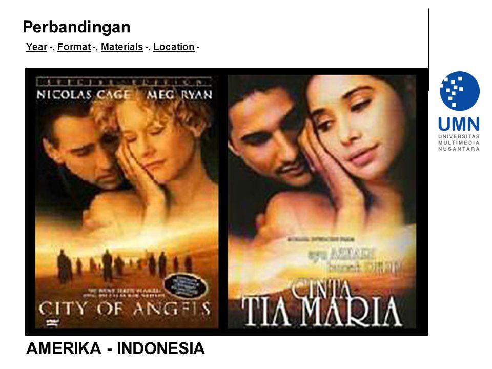 Perbandingan AMERIKA - INDONESIA