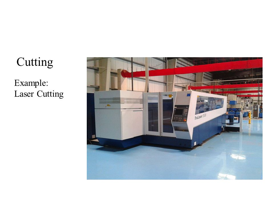 Cutting Example: Laser Cutting