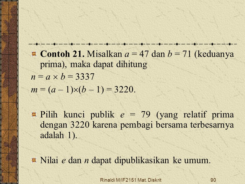 Rinaldi M/IF2151 Mat. Diskrit