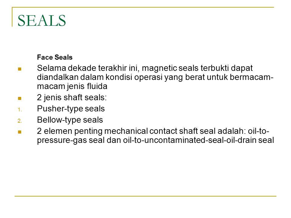 SEALS Face Seals.