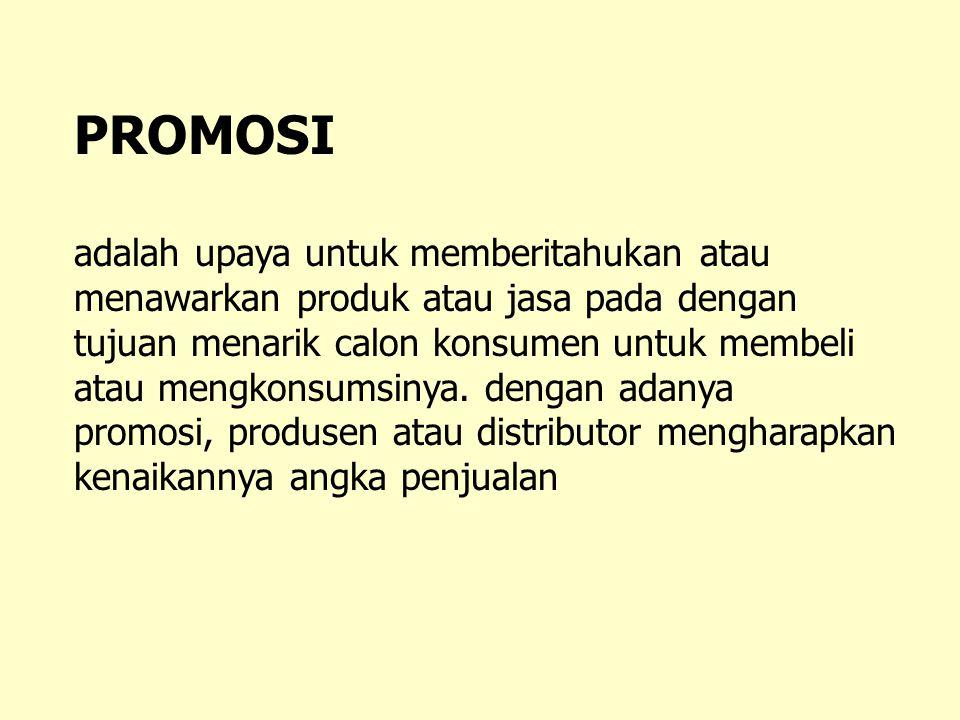 PROMOSI