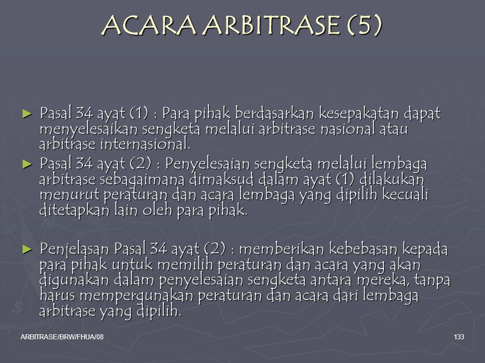 ACARA ARBITRASE (5)