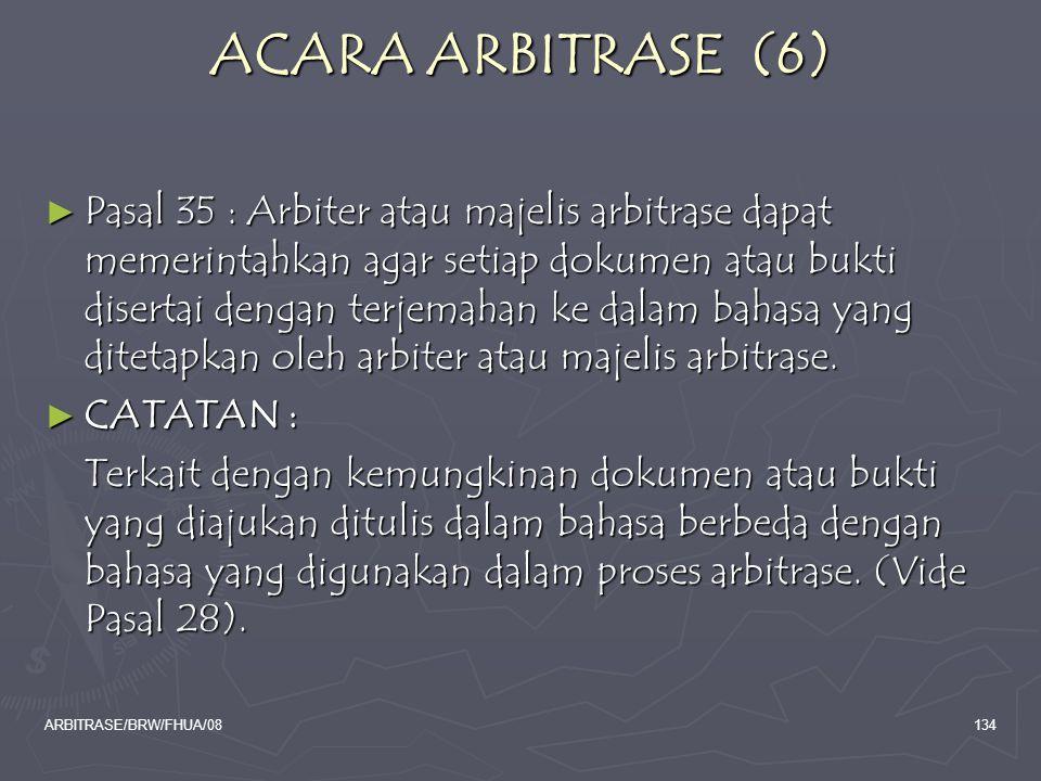 ACARA ARBITRASE (6)