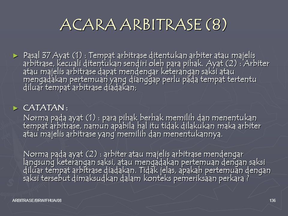 ACARA ARBITRASE (8)