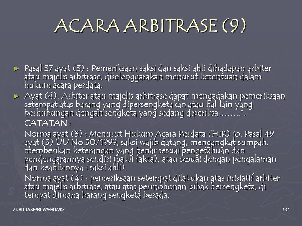 ACARA ARBITRASE (9)