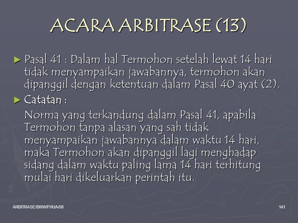 ACARA ARBITRASE (13)