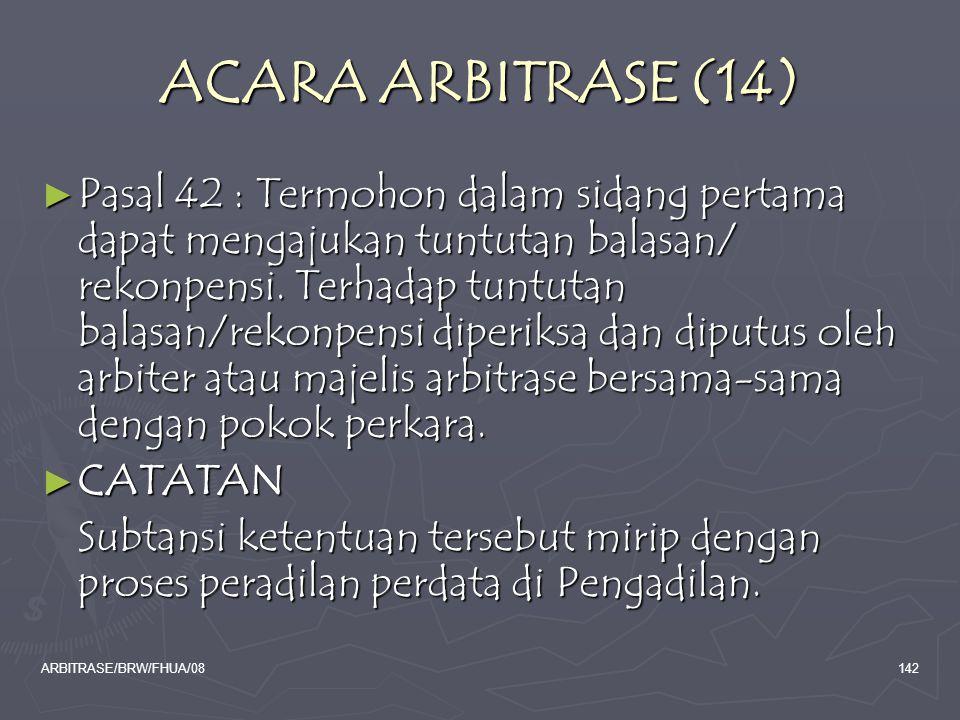 ACARA ARBITRASE (14)