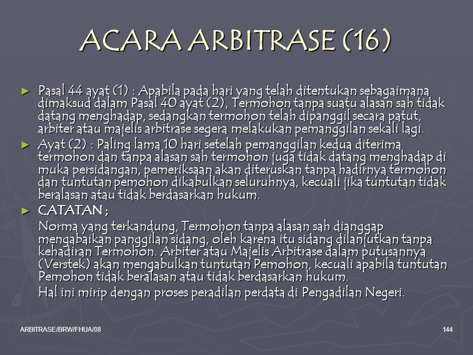 ACARA ARBITRASE (16)