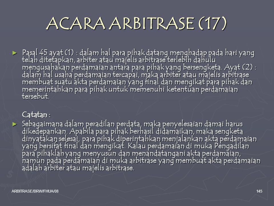 ACARA ARBITRASE (17)