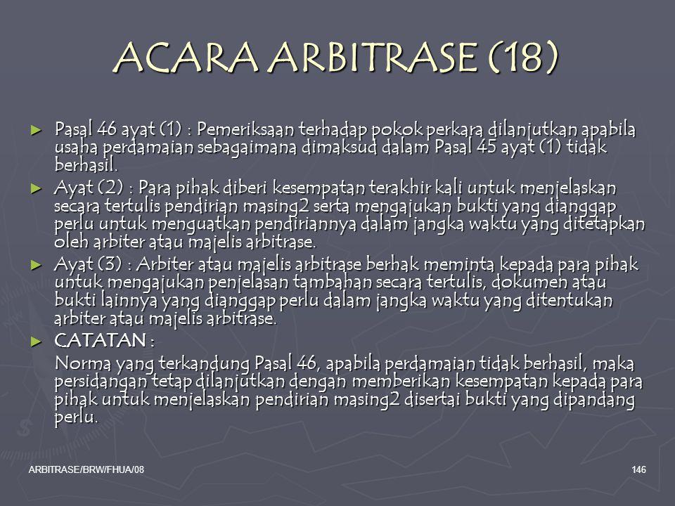 ACARA ARBITRASE (18)