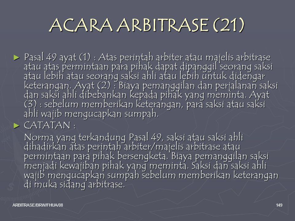ACARA ARBITRASE (21)