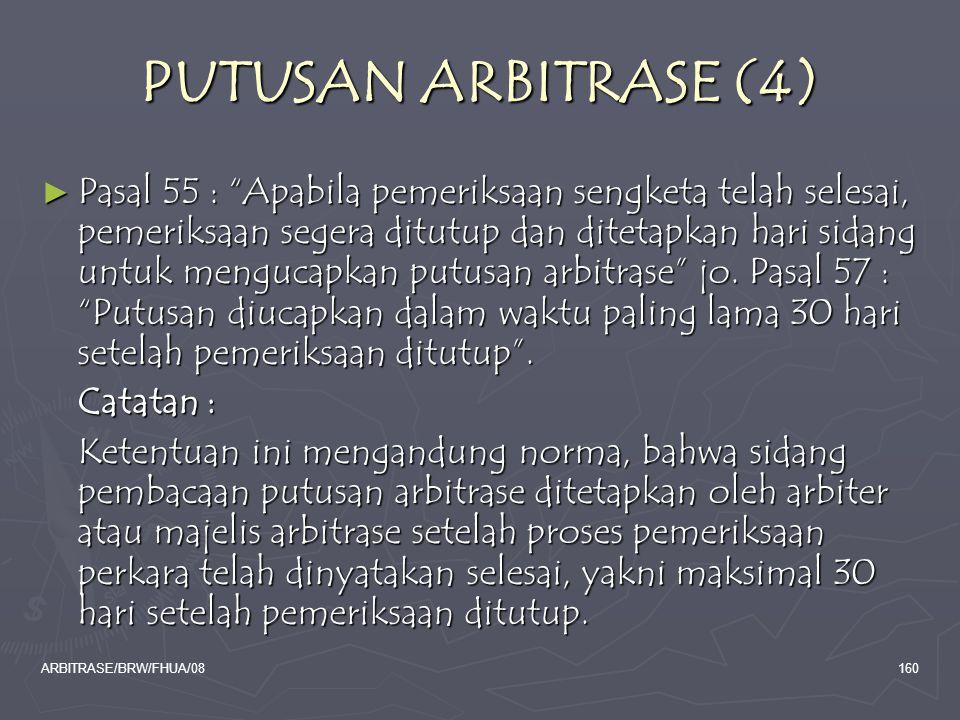 PUTUSAN ARBITRASE (4)