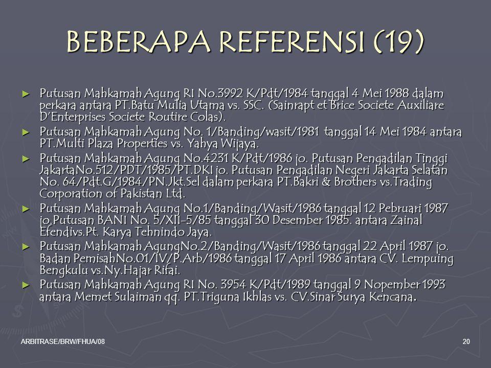 BEBERAPA REFERENSI (19)