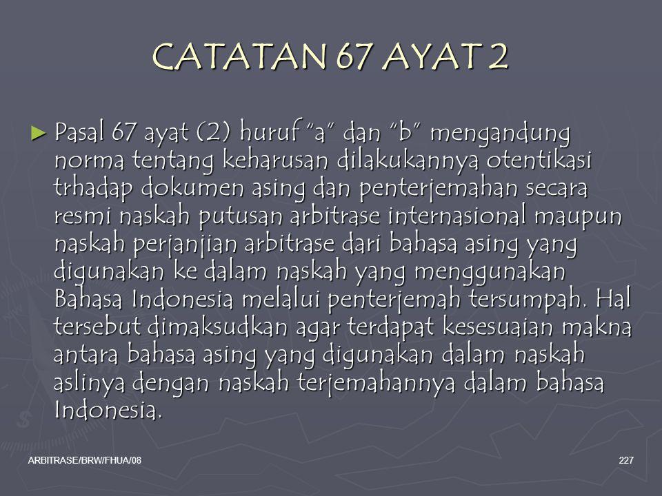 CATATAN 67 AYAT 2
