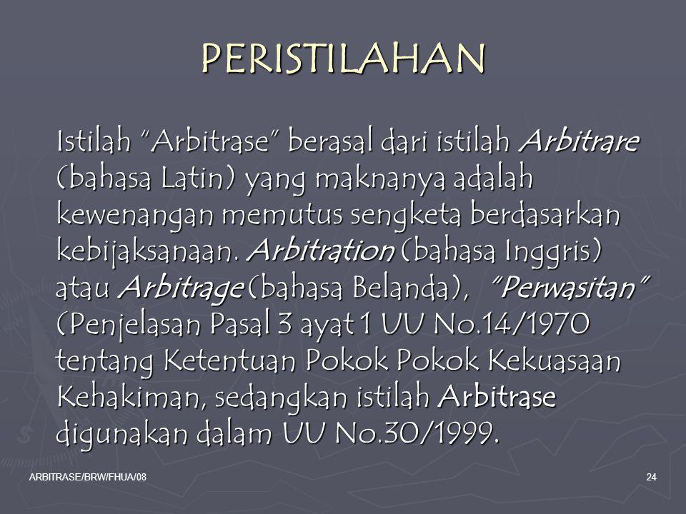 PERISTILAHAN
