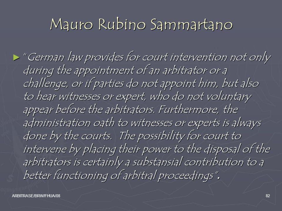 Mauro Rubino Sammartano