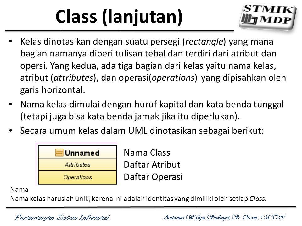 Class (lanjutan)
