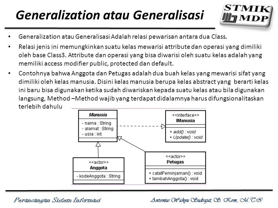 Generalization atau Generalisasi