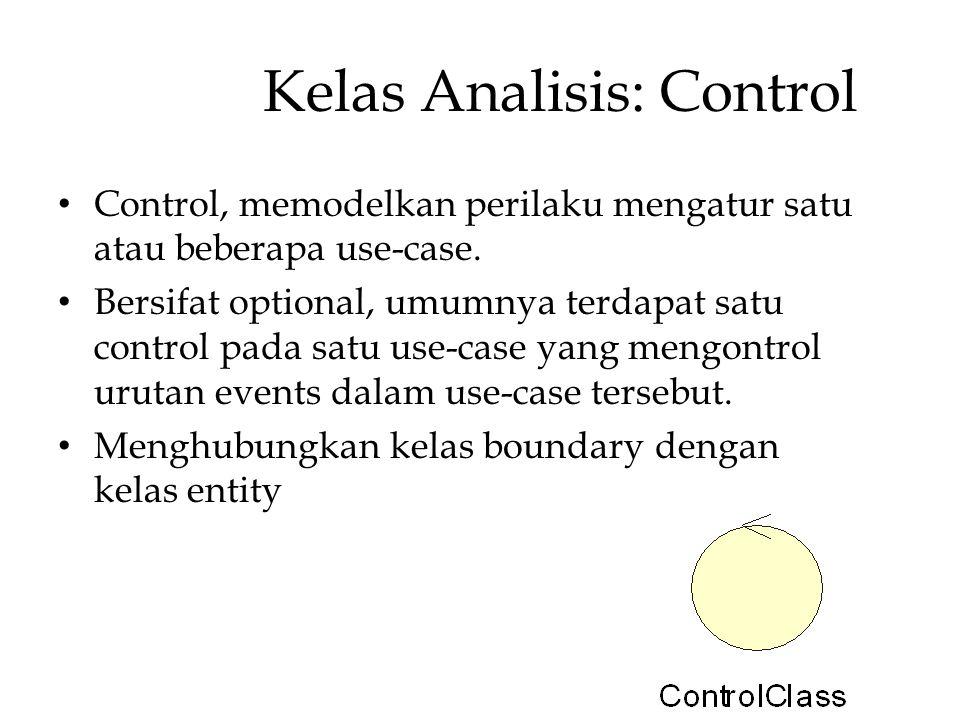 Kelas Analisis: Control