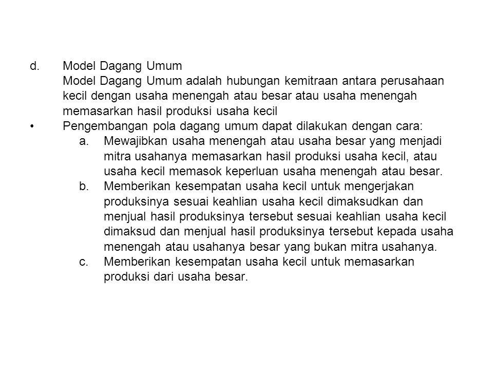 Model Dagang Umum