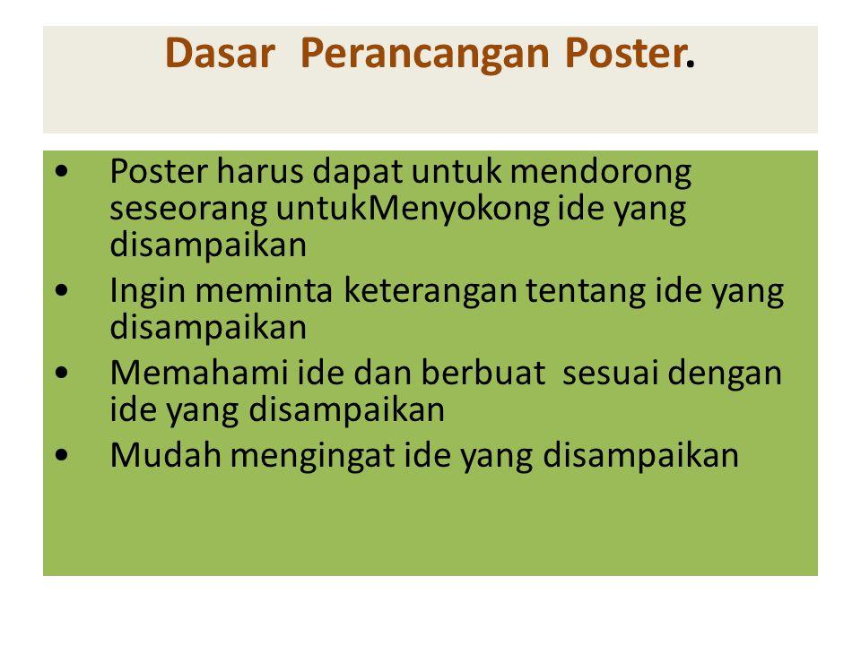 Dasar Perancangan Poster.