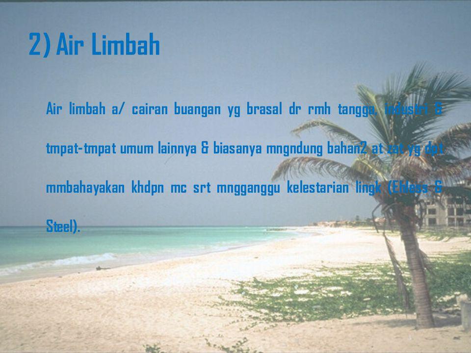 2) Air Limbah
